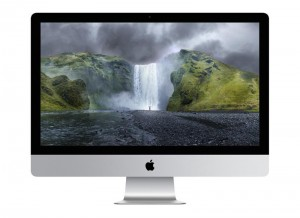 "Apple iMac 27"" 3.5Ghz Retina 5K display quad-core Intel i5, 8GB RAM, 1TB-FD, M290X"